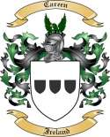 Careen Family Crest from Ireland