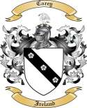 Carey Family Crest from Ireland