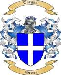 Cargas Family Coat of Arms from Greece