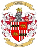 Carlebois Family Crest from France