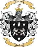 Carling Family Coat of Arms from Ireland