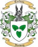 Carlson Family Crest from Norway