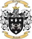 Carlyne Family Crest from Ireland