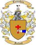 Carnahan Family Crest from Ireland