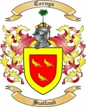 Carnys Family Coat of Arms from Scotland