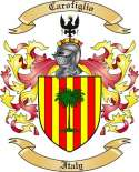 Carofiglio Family Crest from Italy