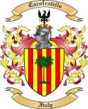 Carofratello Family Crest from Italy