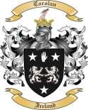 Carolan Family Coat of Arms from Ireland