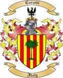 Carotti Family Coat of Arms from Italy