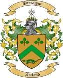 Carragan Family Crest from Ireland
