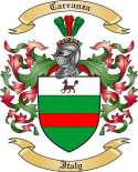 Carranza Family Coat of Arms from Italy