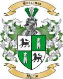Carranza Family Crest from Spain