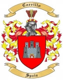 Carrillo Family Crest from Spain