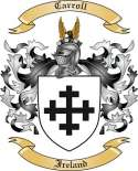 Carroll Family Crest from Ireland2