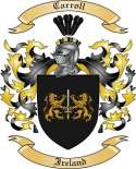 Carroll Family Crest from Ireland