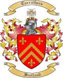 Carruthers Family Coat of Arms from Scotland