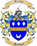 Carson Family Crest from Scotland2