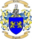 Carter Family Crest from England2
