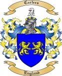 Carters Family Coat of Arms from England2