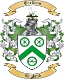 Cartman Family Coat of Arms from England