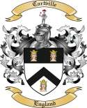 Cartville Family Coat of Arms from England