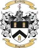 Cartville Family Crest from England