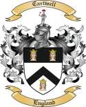 Cartwell Family Coat of Arms from England