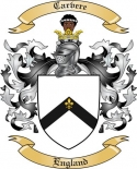 Carvere Family Crest from England2