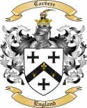 Carvere Family Crest from England