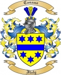 Casana Family Coat of Arms from Italy2