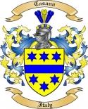 Casano Family Coat of Arms from Italy2