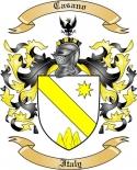 Casano Family Coat of Arms from Italy