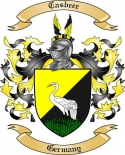 Casbeer Family Coat of Arms from Germany