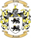Casby Family Coat of Arms from Ireland