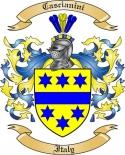 Cascianini Family Coat of Arms from Italy2