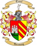 Casel Family Coat of Arms from Germany