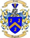 Cash Family Crest from England3