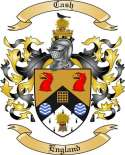 Cash Family Coat of Arms from England
