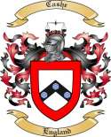 Cashe Family Crest from England2