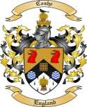 Cashe Family Crest from England
