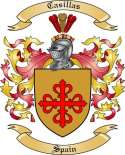 Casillas Family Crest from Spain