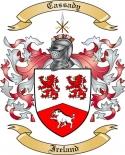 Cassady Family Crest from Ireland