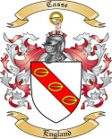 Casse Family Coat of Arms from England2