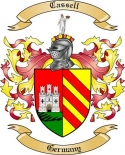 Cassell Family Coat of Arms from Germany