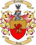 Castaldi Family Crest from Italy