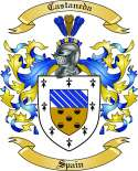 Castaneda Family Coat of Arms from Spain
