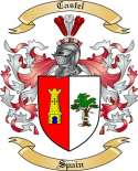 Castel Family Coat of Arms from Spain