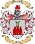 Castellane Family Coat of Arms from Italy