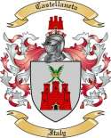 Castellaneta Family Crest from Italy
