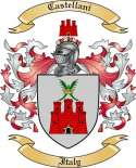 Castellani Family Crest from Italy